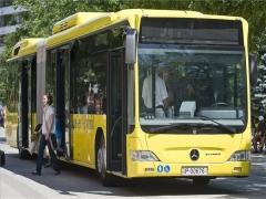 Bemutatkozott Kecskeméten a Mercedes-Benz hibridhajtású busza