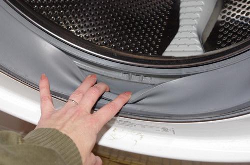 Penészes mosógép tisztítása