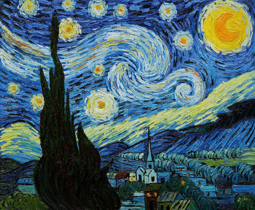 1 - Starry night, dizzy night - Lifestyle, Culture and Arts
