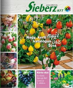 Megjelent a Sieberz őszi katalógusa