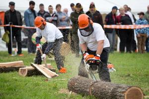 Címvédés a fakitermelők országos bajnokságán