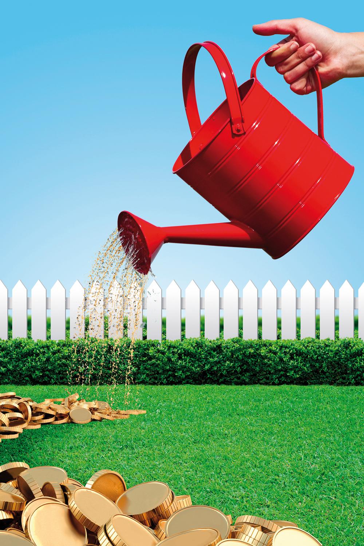 Locsolási vízmérővel gazdaságosabb a kertöntözés