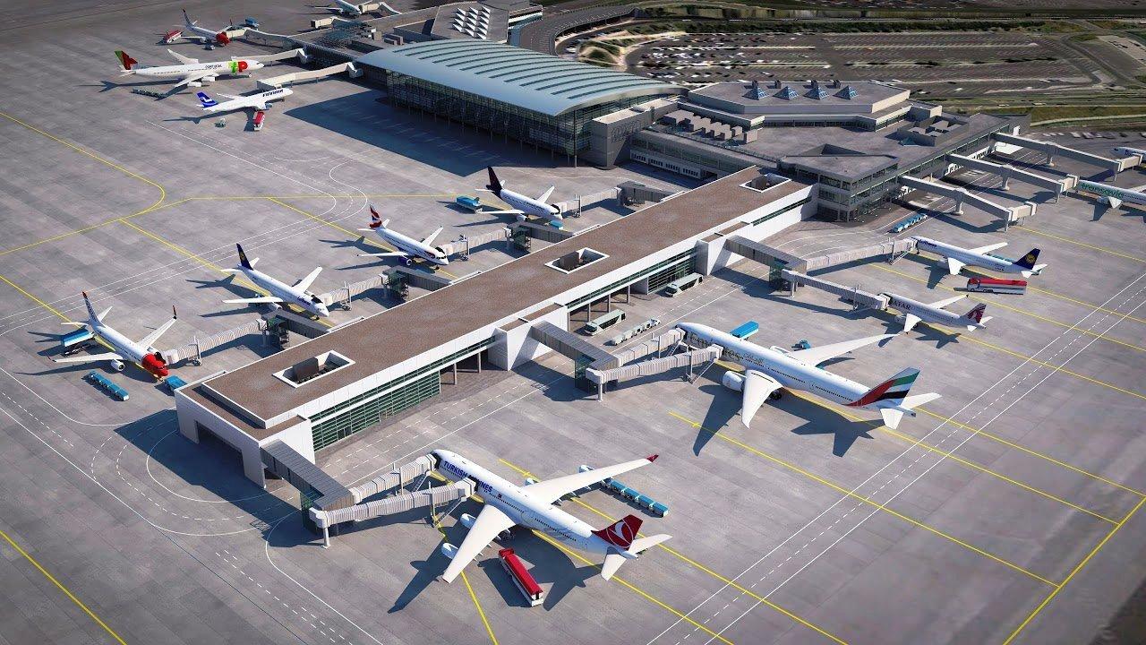 Repülőtéri látványterv