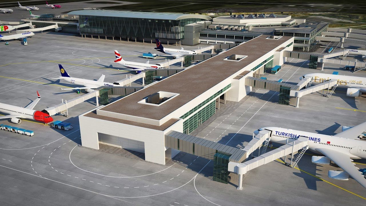 Repülőtéri csatlakozási oldal