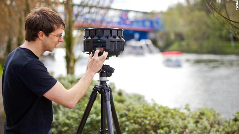360 fokos VR-kamera a Google-tól