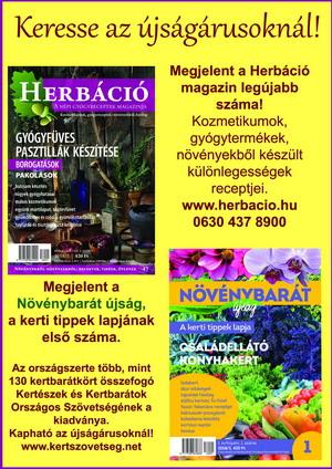 Megjelent a Herbáció új lapszáma