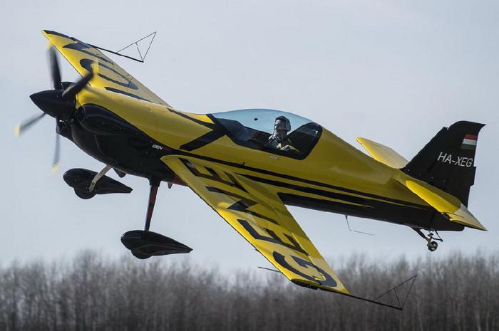 Magyar fejlesztésű új műrepülőgép
