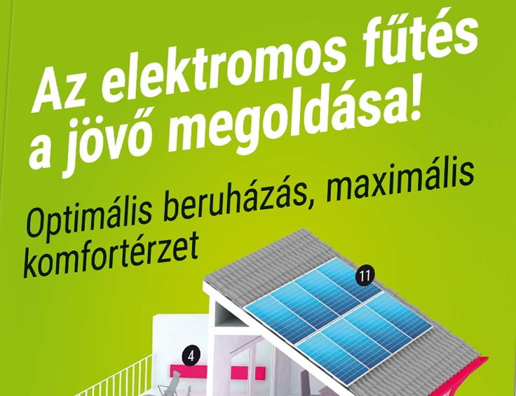Elektromos fűtés a jövő megoldása!