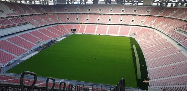 Heraklith fagyapot lapok a Puskás Stadionban