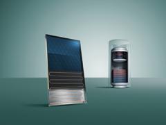Szolár rendszerek melegvíz készítésre, illetve fűtésrásegítésre