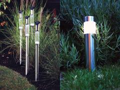 Szolár kerti lámpák