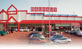 Bauhaus áruházak magyarországon