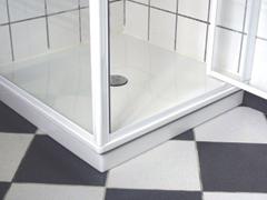 Hővisszanyerő zuhanytálca és lefolyócső
