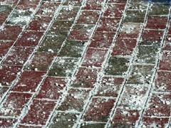 Téli sózás hatása a betonra