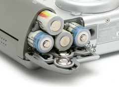 Digitális fényképezőgép akkumulátorok