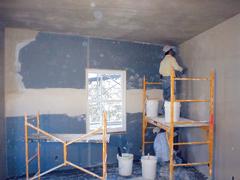 Falak előkészítése szigetelés előtt