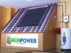 GrünPower napkollektorok és napelemek