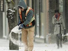 Járdák téli takarítása