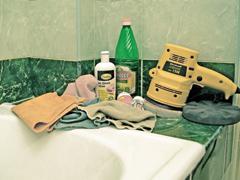 Kádak, mosdók tisztítása