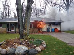 Menekülés tűz esetén