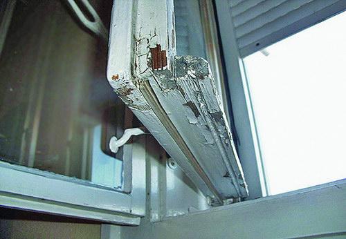Régi ablakkeret felújítása