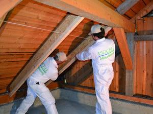 Belső tetőszigetelési megoldás