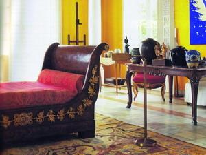 Antik- és stílbútorok a modern lakásban