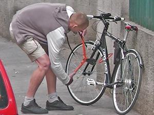 Kerékpártolvajok ellen