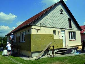 Családi házunk sikeres hőszigetelése