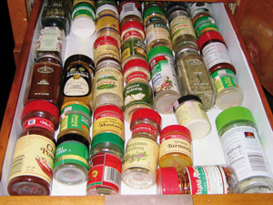 Aromazáró tárolás a konyhában