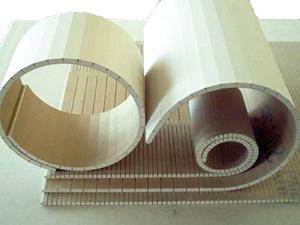 Íves felületek modulos gipszkartonból
