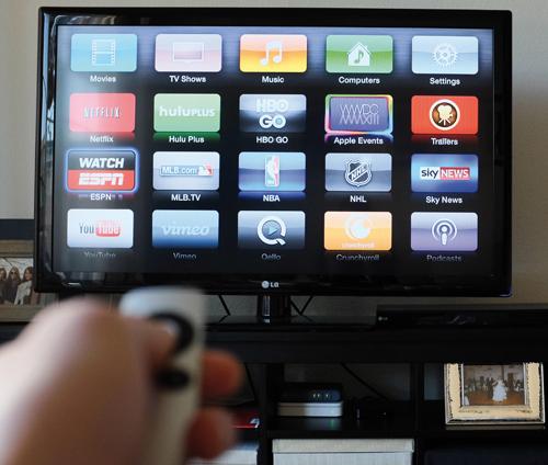Okostelefon és a TV