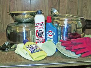 Fémtárgyak tisztítása otthon
