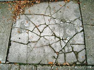 Betonfelületek sérüléseinek javítása