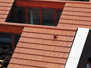 Egyenes tetőcserép