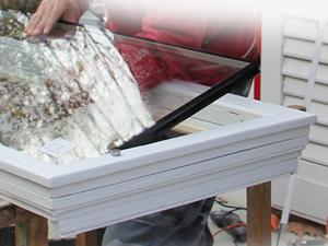 Hőszigetelő üvegcsere fakeretes ablakokba