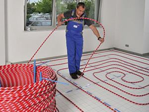 Uponor öntapadós padlófűtési rendszer