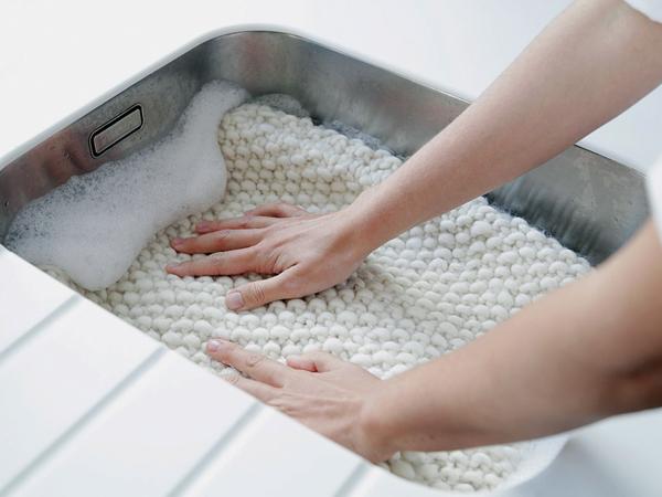 Gyapjú ágynemű mosása