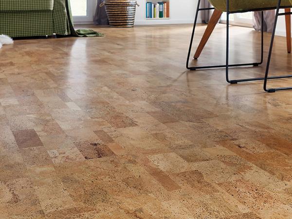 Parafa padló lerakása