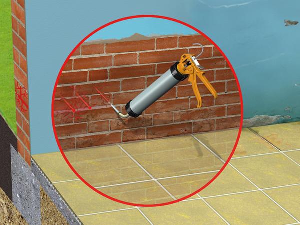 A nedves falak ellenfele: Sika Mur® rendszer