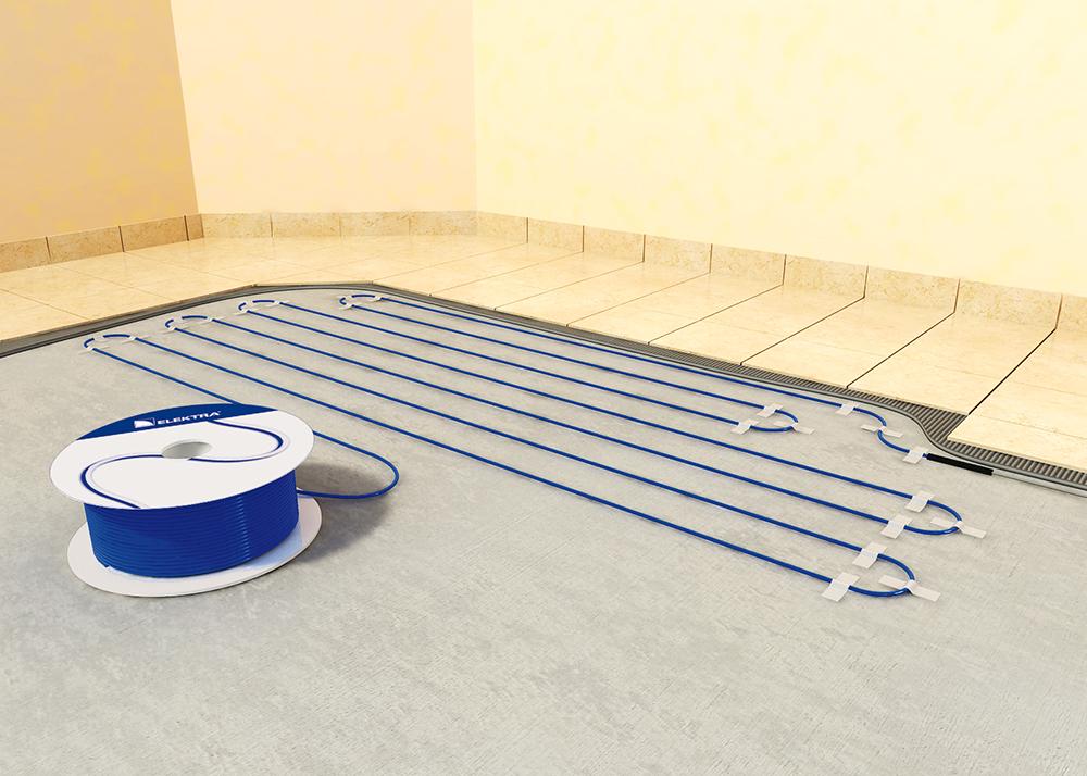 Fűtőkábel padlófűtés
