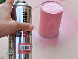 Környezetbarát kréta-festék spray