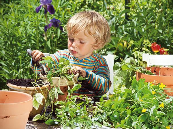 Május a kertekben