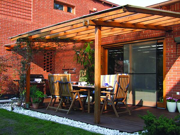 Pergolák, kerti pihenőhelyek