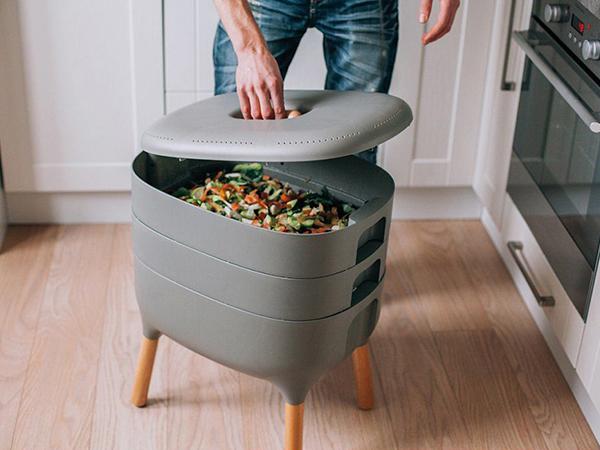 Komposztálás a lakásban