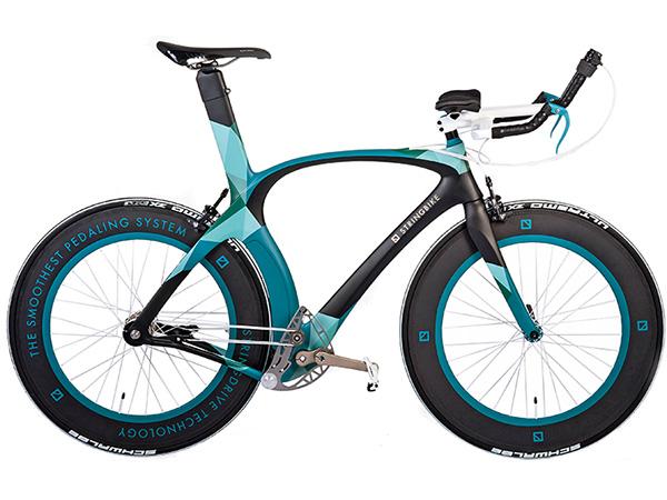 Lánc nélküli bicikli
