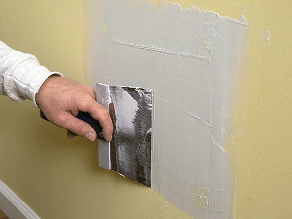 Belső falfelületek javítása