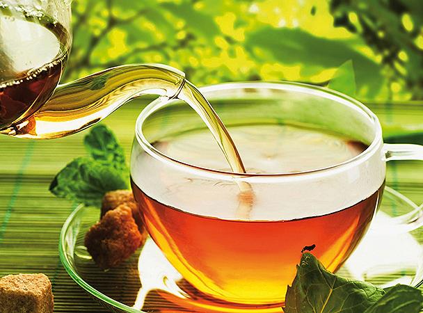 Tea saját kertből