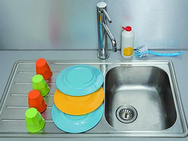 Hatékony tisztítás konyhában, fürdőszobában