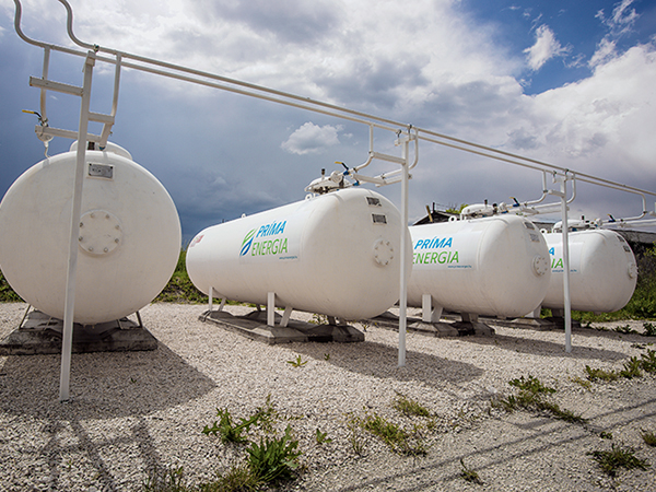 A tartályos gázrendszer elemei